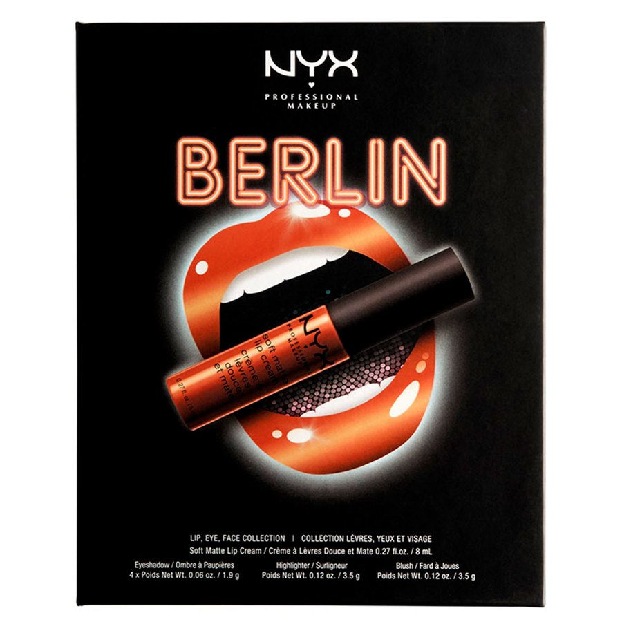 NYX Professional Makeup City Set Berlin