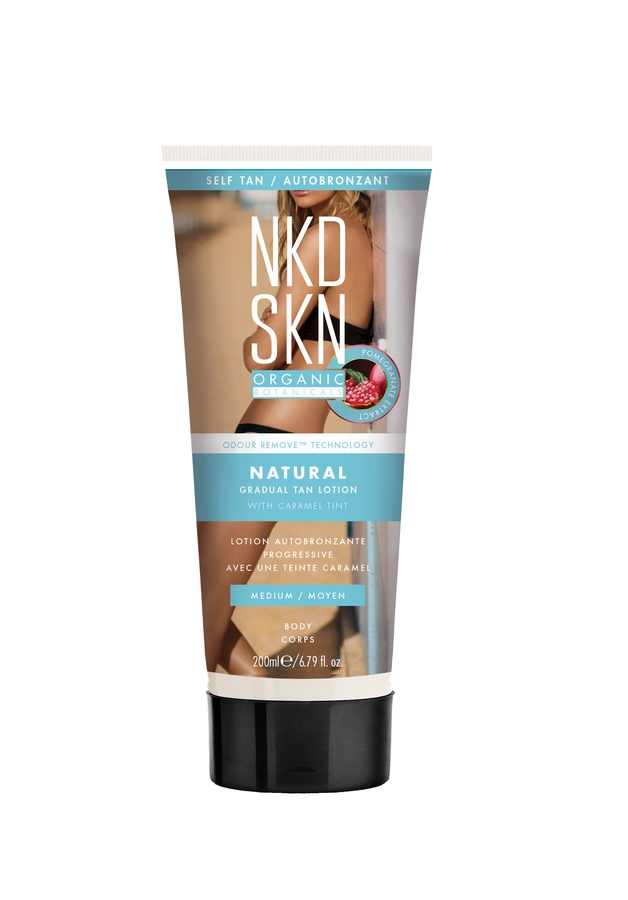NKD SKN Natural Gradual Tan Lotion, Medium (200 ml)