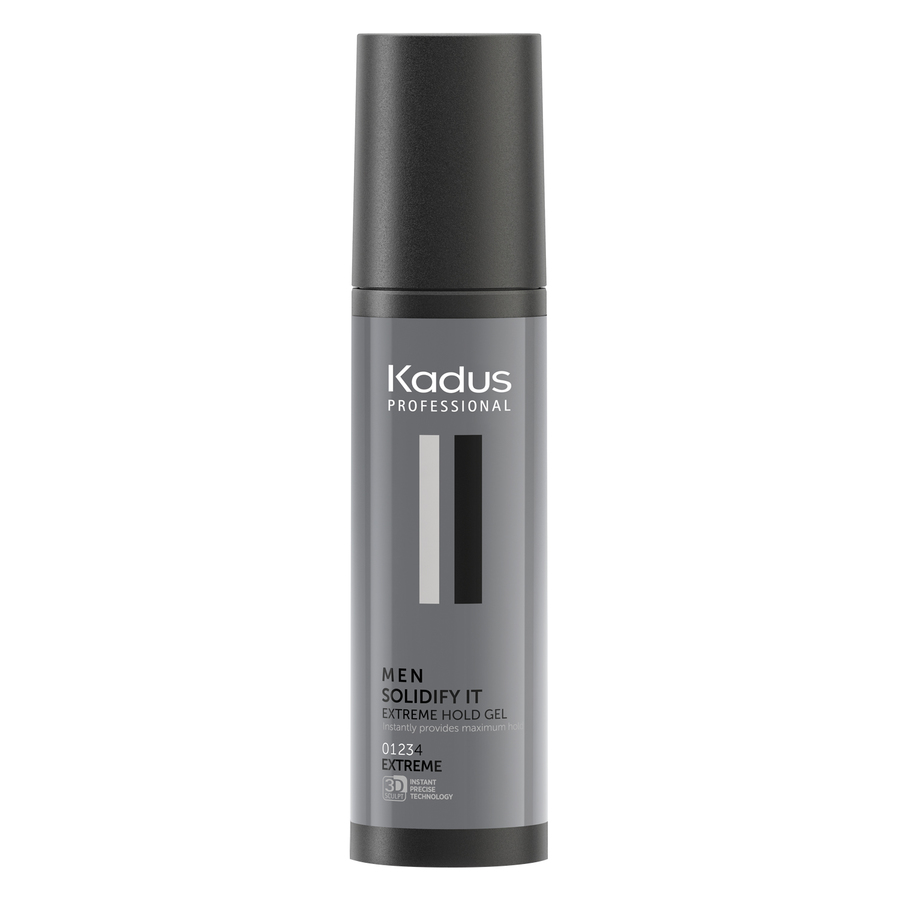 Kadus Professional Men Solidify It Extreme Hold Gel (100 ml)