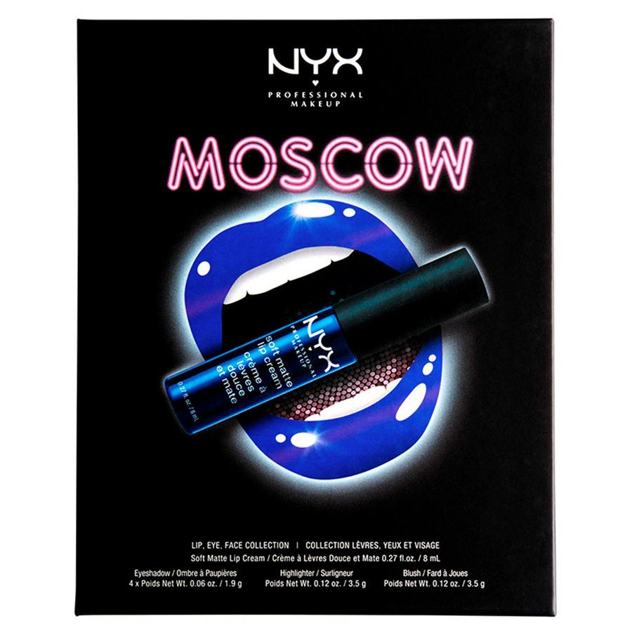 NYX Professional Makeup City Set, Moscow