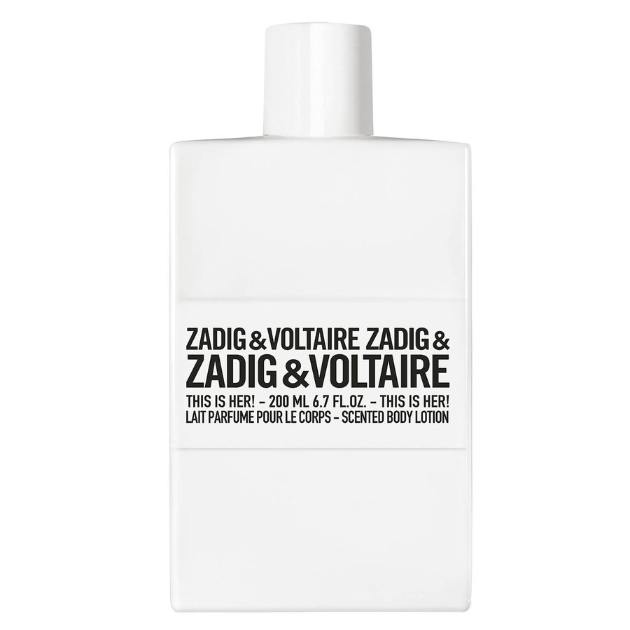 Zadig & Voltaire This Is Her Body Lotion 200ml