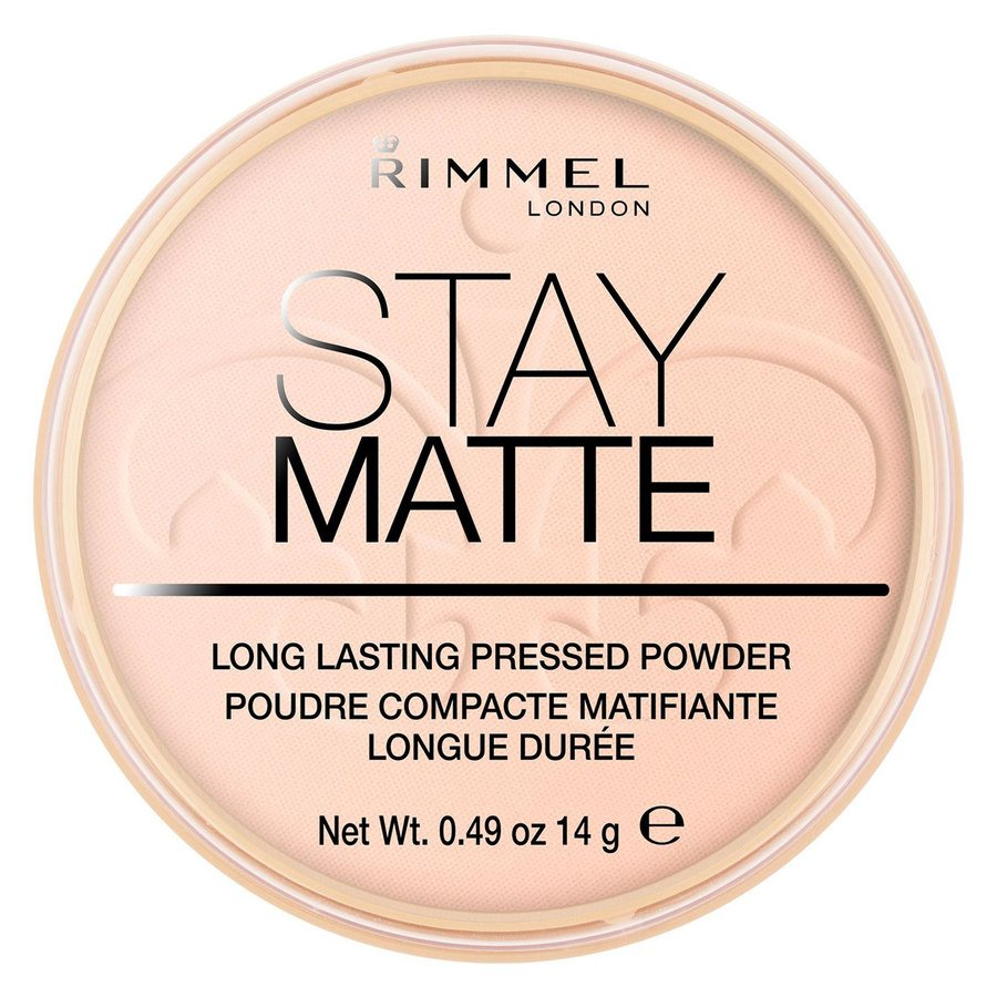 Rimmel London Stay Matte Pressed Face Powder, # 002 Pink Blossom (14 g)